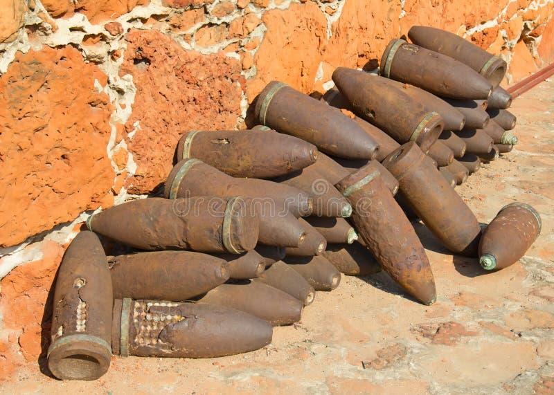 Fort i Maputo, Mocambique arkivbilder