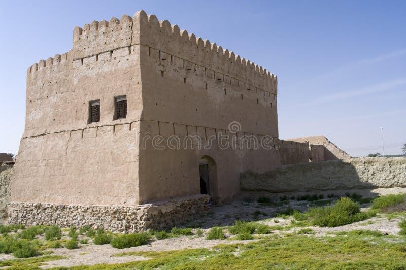 Fort Jalan Bani Bu Ali, Sultanate of Oman royalty free stock images