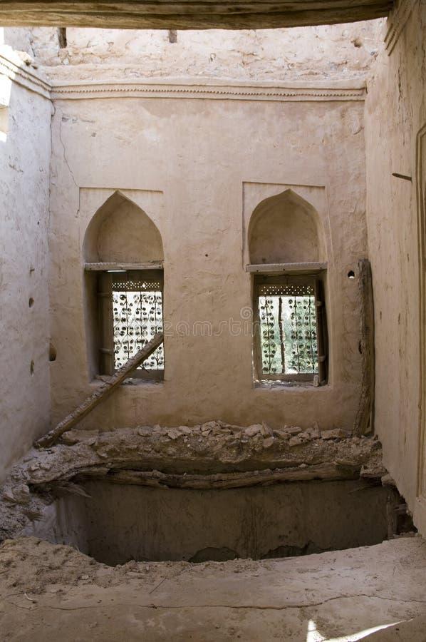 Fort Jalan Bani Bu Ali, Sultanate of Oman stock photos