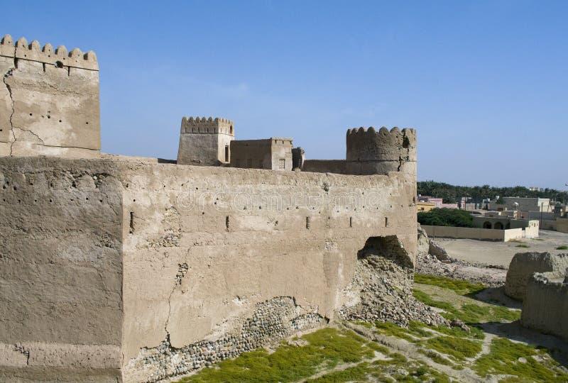 Fort Jalan Bani Bu Ali, Sultanate of Oman royalty free stock image