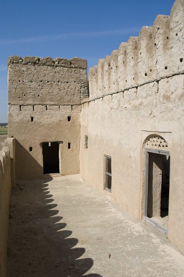 Fort Jalan Bani Bu Ali, Sultanate of Oman stock photography