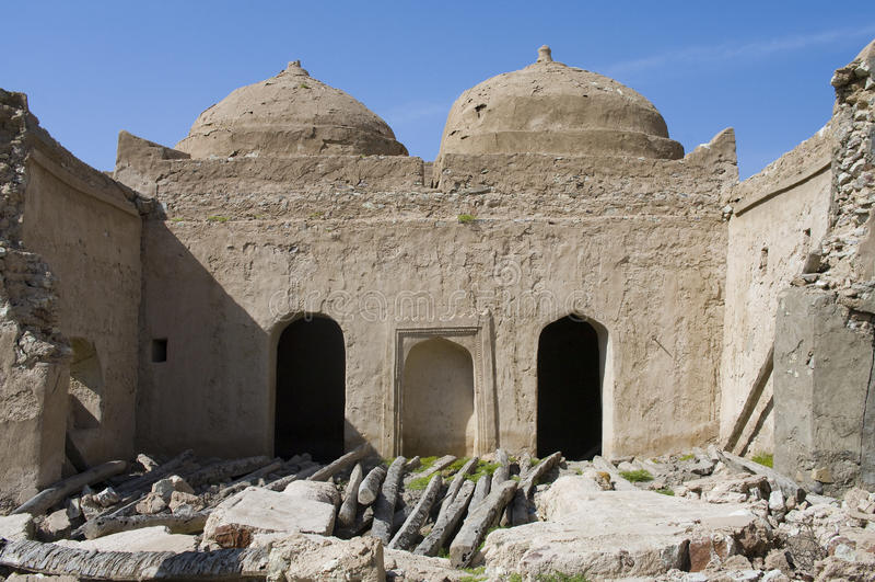 Fort Jalan Bani Bu Ali, Sultanate of Oman stock photo