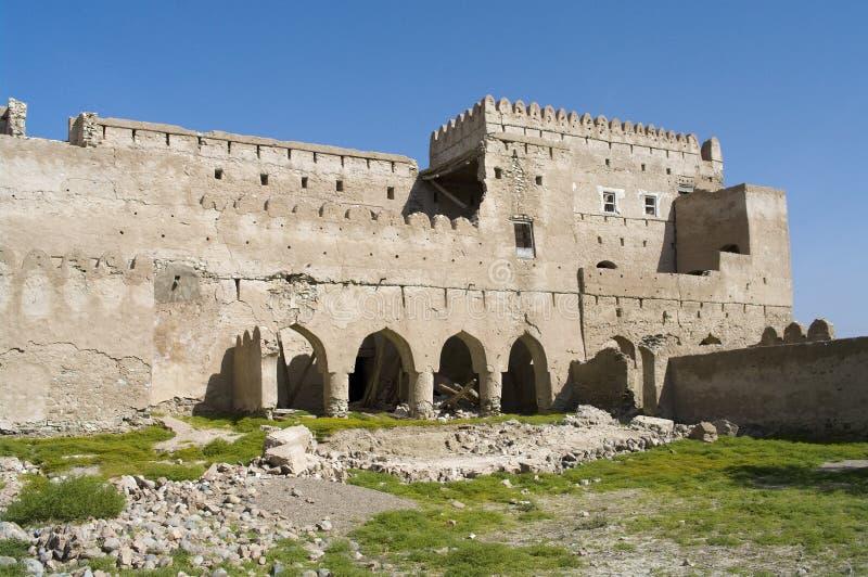 Fort Jalan Bani Bu Ali, Sultanate of Oman royalty free stock photo