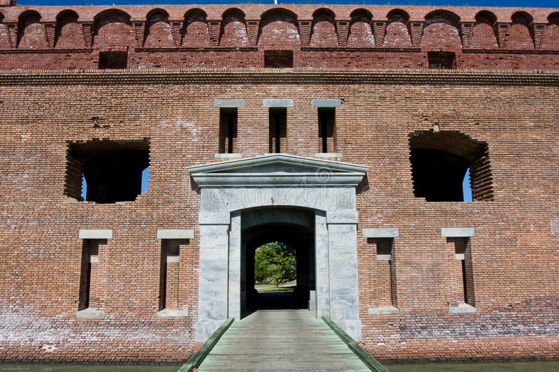 Download Fort Jefferson stock photo. Image of tortugas, moat, abandoned - 13230626