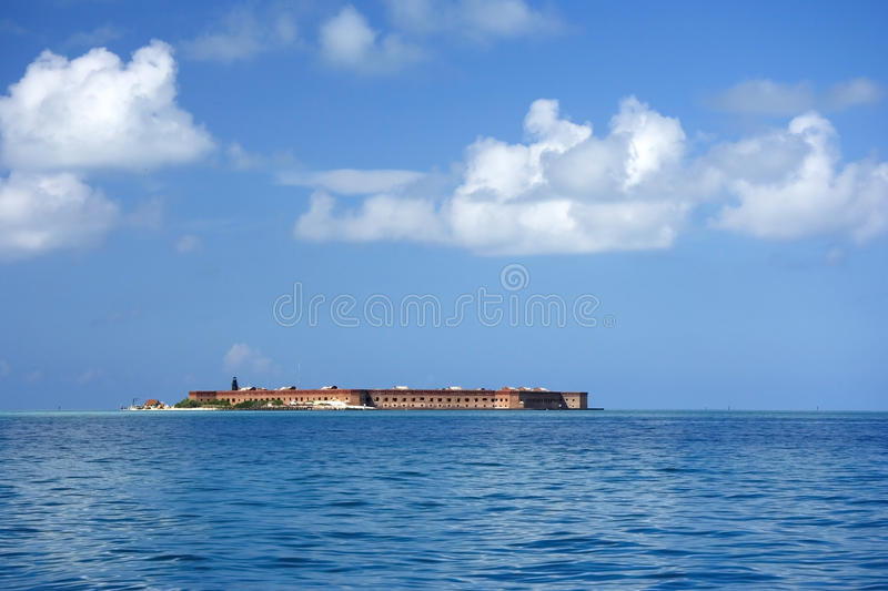 Fort Jefferson. The Gibraltar of the Gulf stands guard over the Florida Straits, Dry Tortugas National Park stock images