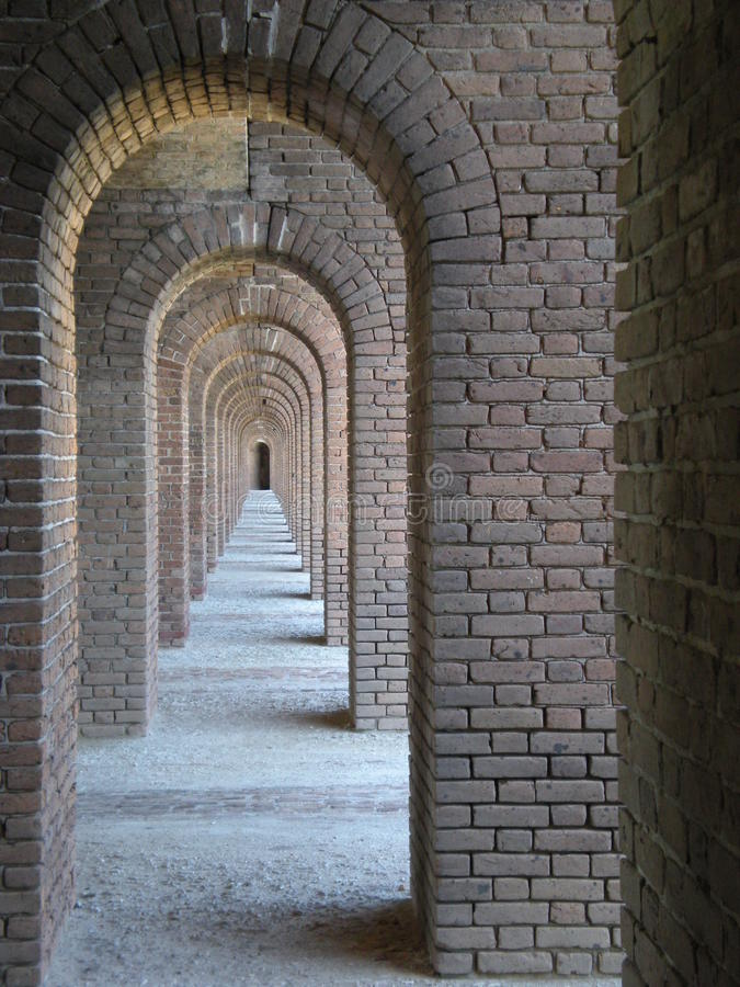 Fort Jefferson stock afbeelding