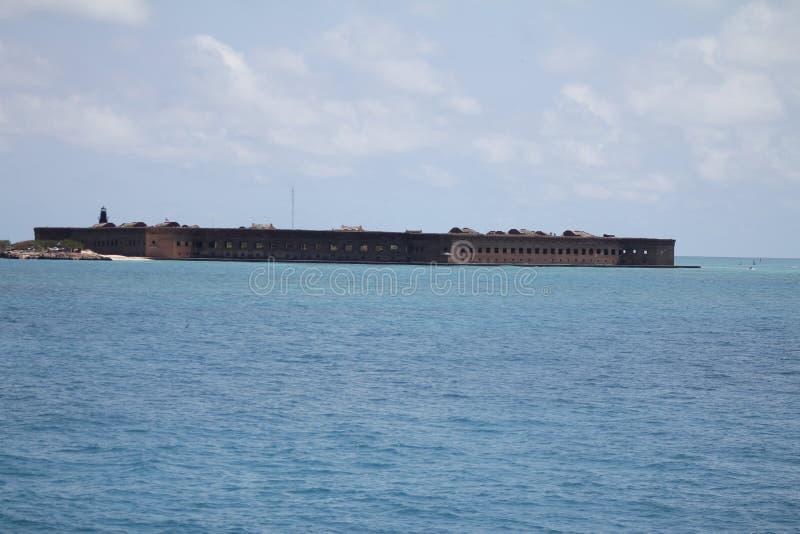 Fort Jefferson lizenzfreies stockbild