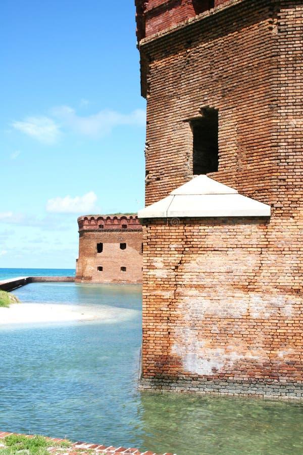 Fort Jefferson Dry Tortugas lizenzfreie stockfotos