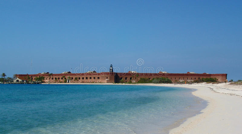 Fort Jefferson National Park stock photo