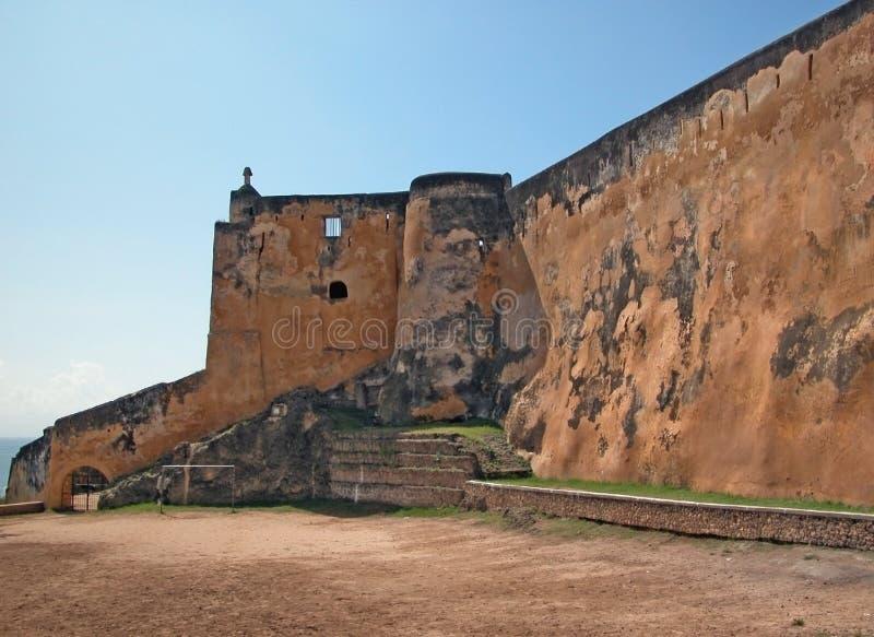 fort jesus mombasa royaltyfri fotografi