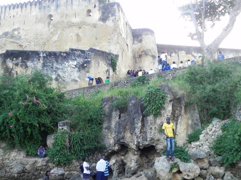 Fort Jesus Mombasa royaltyfri foto