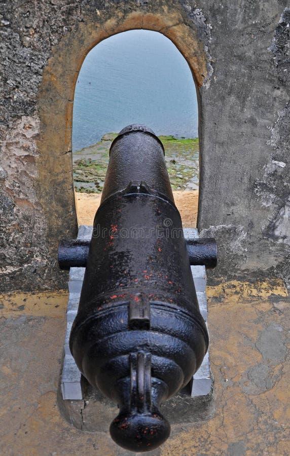 Fort Jesus in Mombasa, Kenia stock afbeeldingen