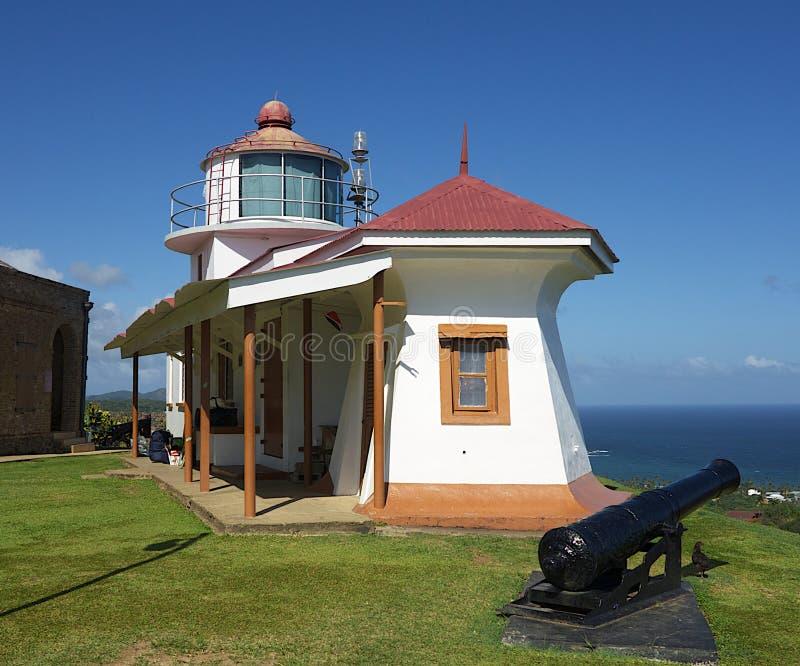 Fort King Georgs Light stock photo