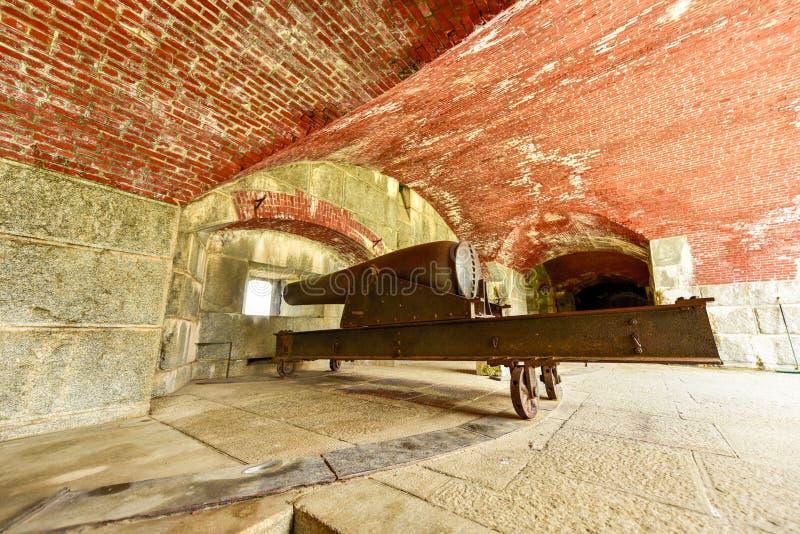 Fort Knox, Maine - obraz royalty free