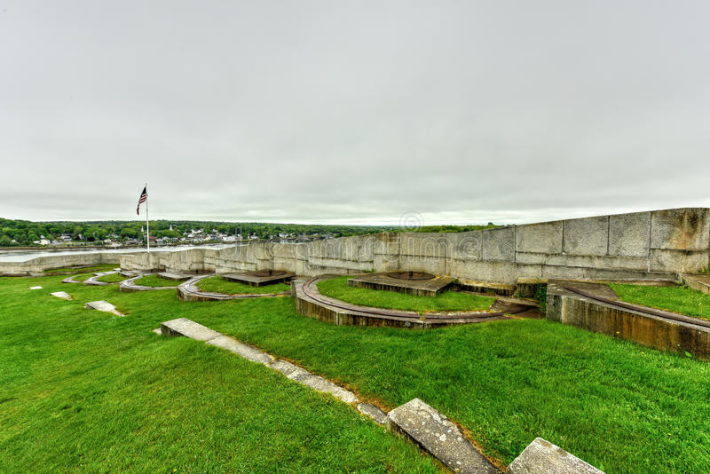 Fort Knox - Maine royalty free stock photo