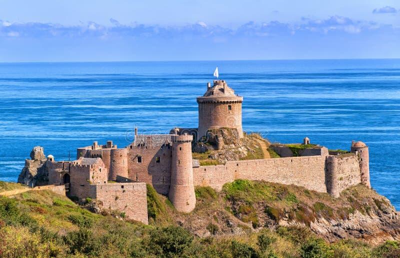 Fort-La Latte, Bretagne, Frankreich stockfoto
