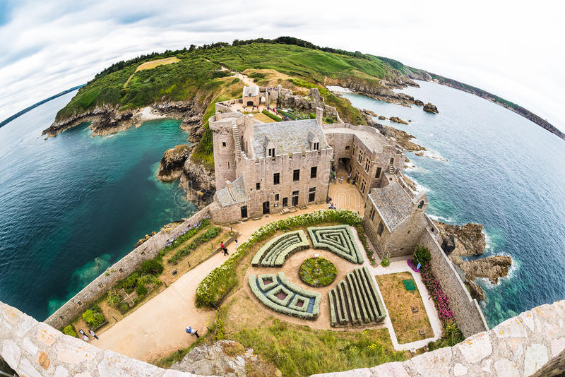 Download Fort la Latte castle editorial photography. Image of environmental - 75846467