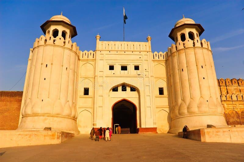 fort lahore royaltyfri fotografi