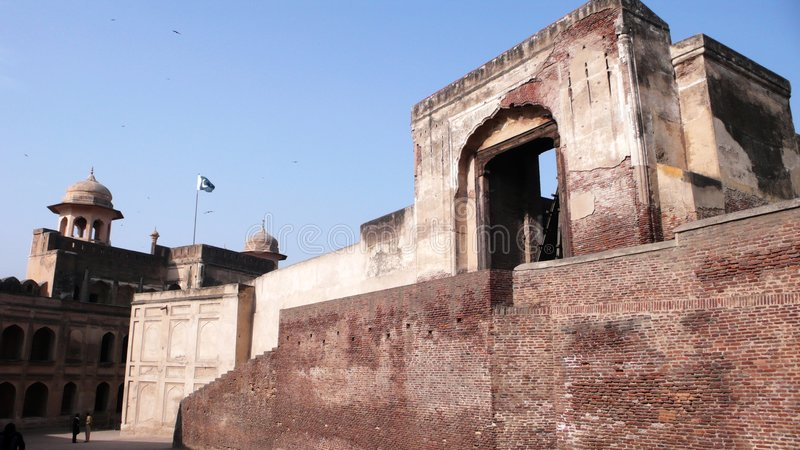 fort lahore royaltyfri foto