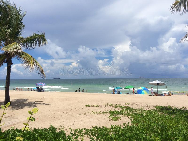Fort Lauderdale Beach royalty free stock image