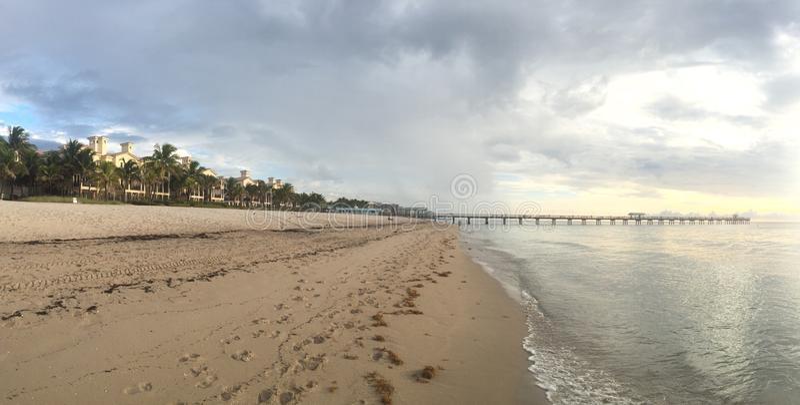 Fort Lauderdale Beach Sunrise royalty free stock photos