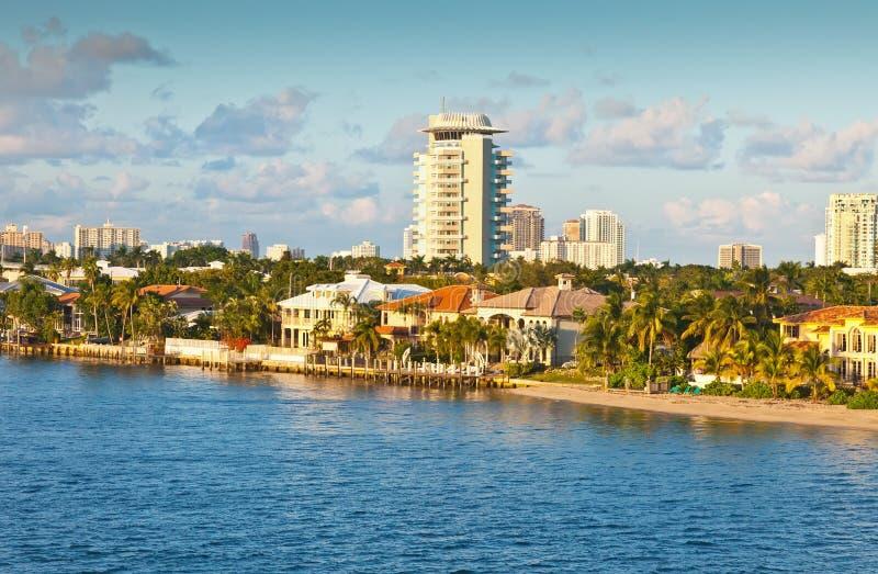 Fort Lauderdale Florida arkivfoton