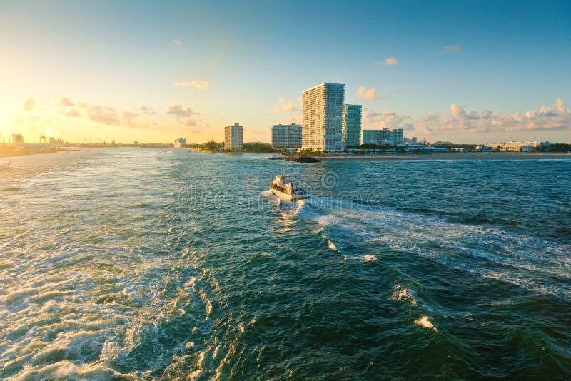 Fort Lauderdale Florida royaltyfri fotografi