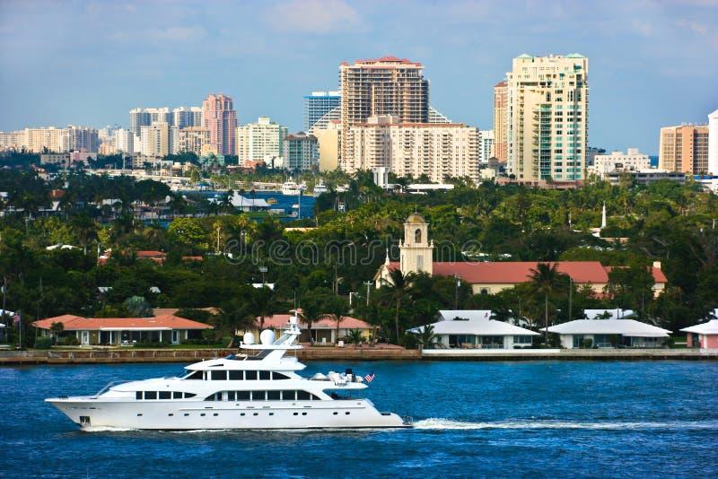 Fort Lauderdale Florida arkivbilder