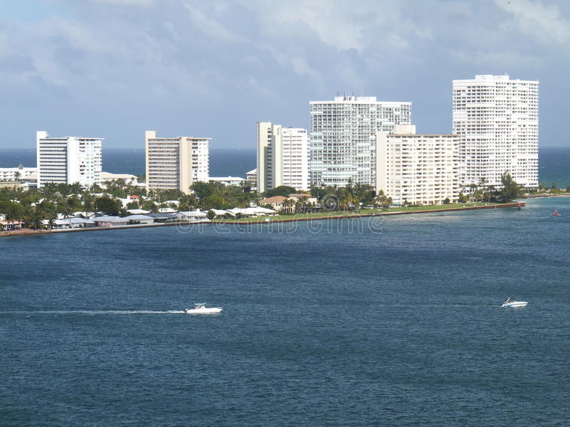 Fort Lauderdale in Florida stockbild