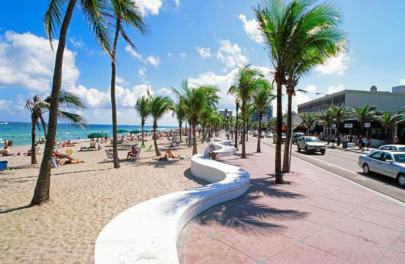 Fort Lauderdale Beach, Florida stock image