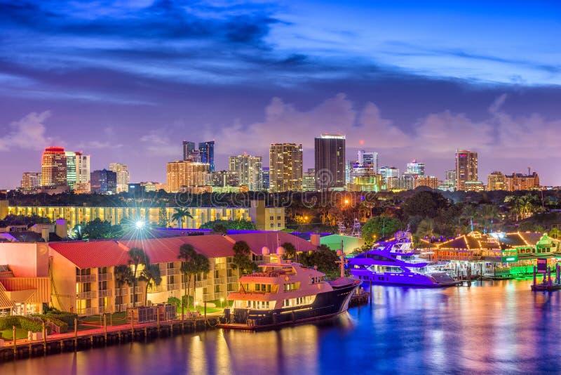 Fort Lauderdale Florida, USA royaltyfri bild