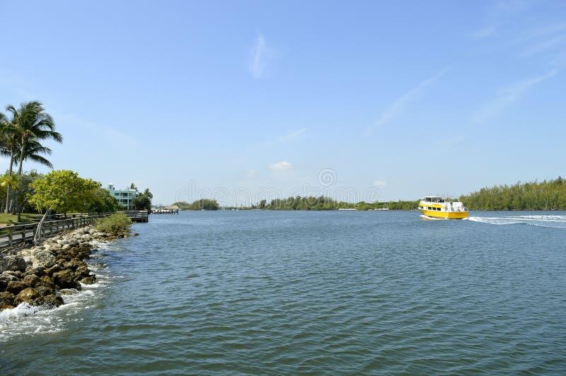 Fort Lauderdale intercoastal waterweg royalty-vrije stock afbeeldingen