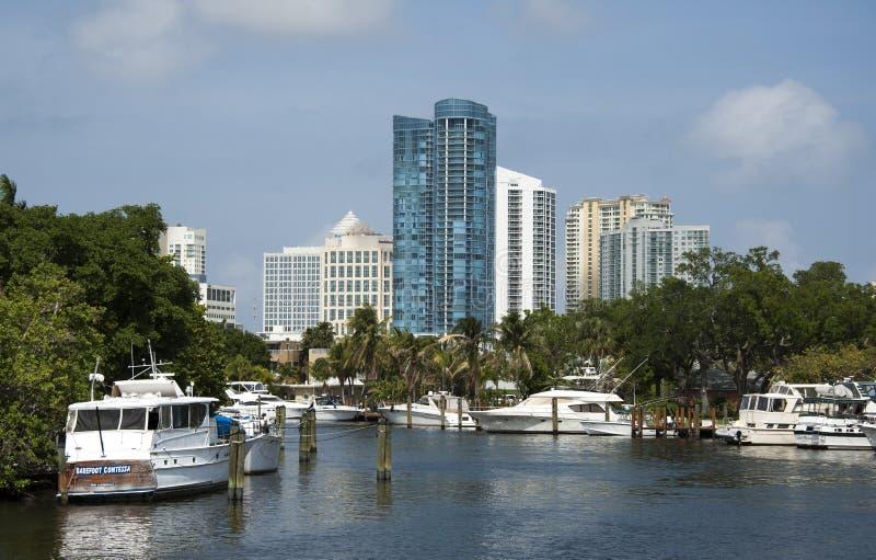 Fort Lauderdale la Florida los E.E.U.U. foto de archivo