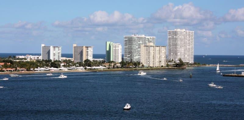 Fort Lauderdale port arkivfoto