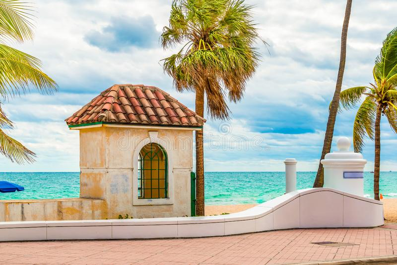 Fort Lauderdale strand, Florida royaltyfria bilder