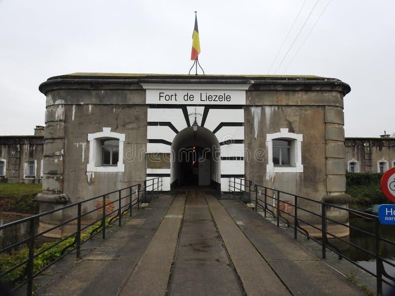 Fort Liezele, Puurs, Belgia - zdjęcia royalty free