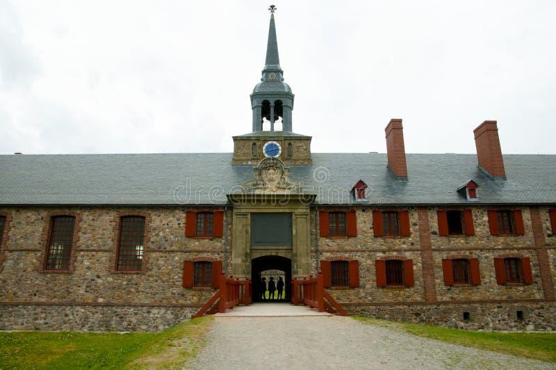 Fort Louisbourg - Nova Scotia - Canada images stock