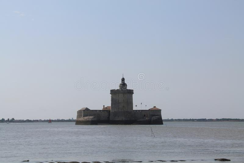 Fort Louvois, Bourcefranc-le-Chapus ( France ) royalty free stock photo