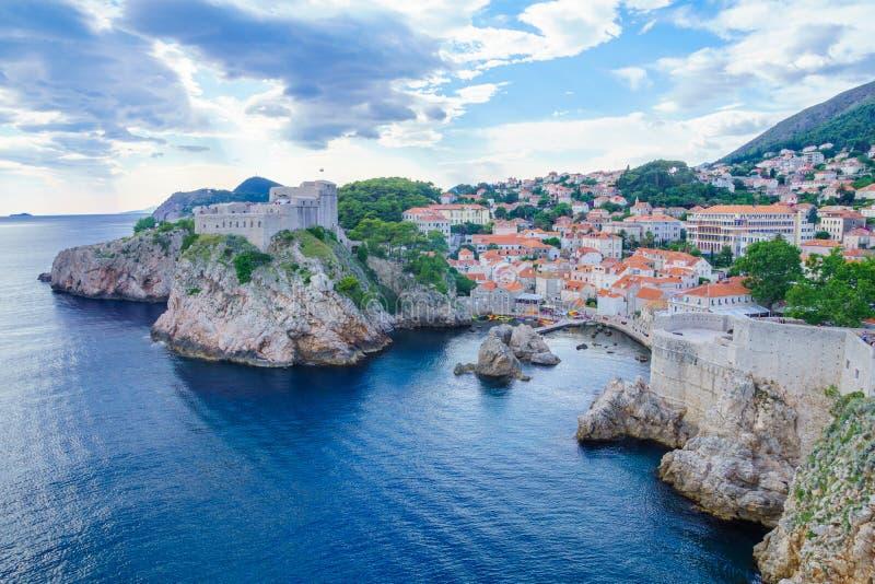 Fort Lovrijenac, Dubrovnik stock fotografie