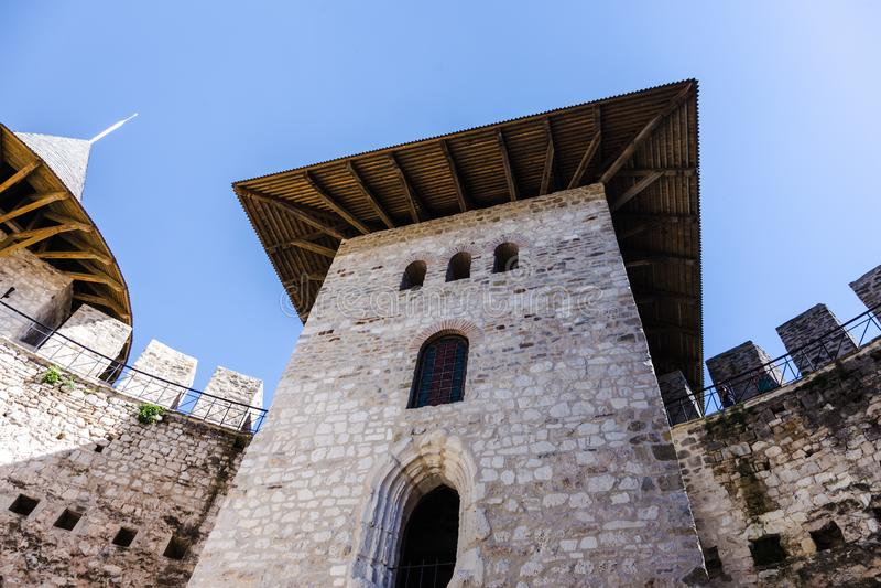 Fort médiéval dans Soroca photographie stock