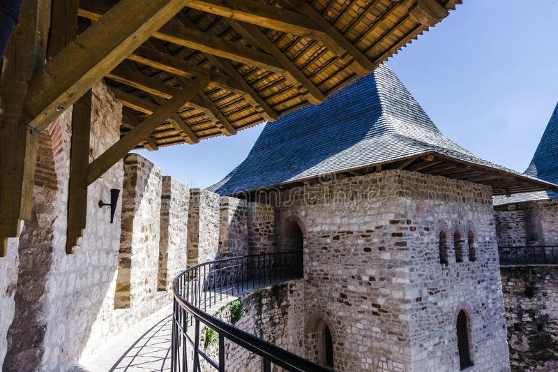 Fort médiéval dans Soroca photo stock