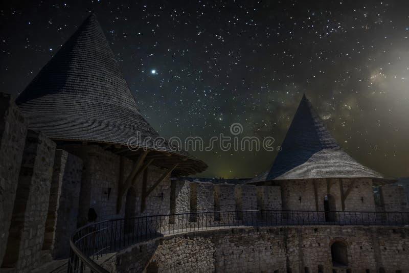 Fort médiéval dans Soroca photographie stock libre de droits