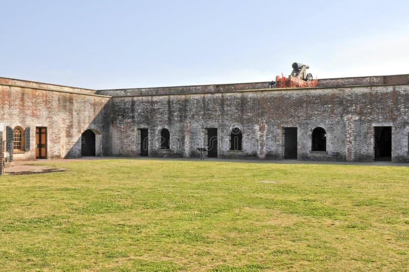 Fort Macon arkivbilder
