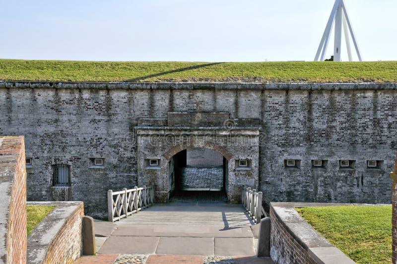 Fort Macon stockfotografie