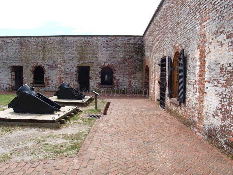 Fort Macon stockbilder