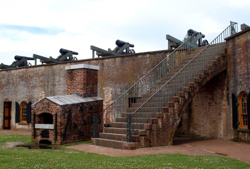 Fort Macon lizenzfreies stockbild