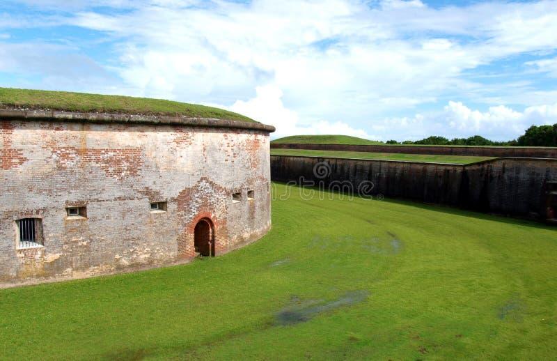 Fort Macon lizenzfreie stockbilder