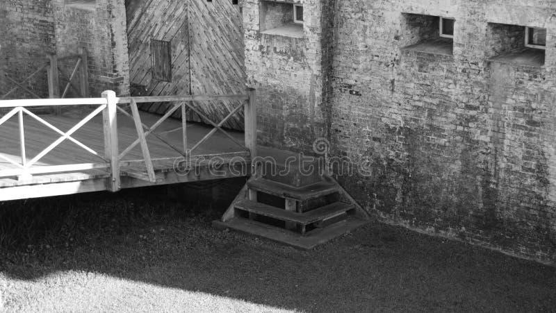 Fort Macon stock foto's