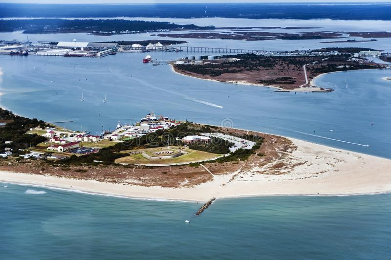 Fort Macon State Park images stock