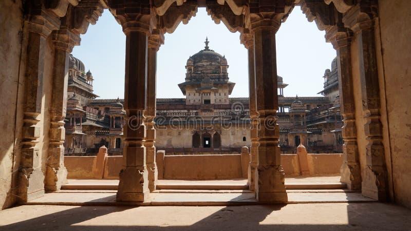 Fort Madhya Pradesh Inde d'Orcha photographie stock libre de droits